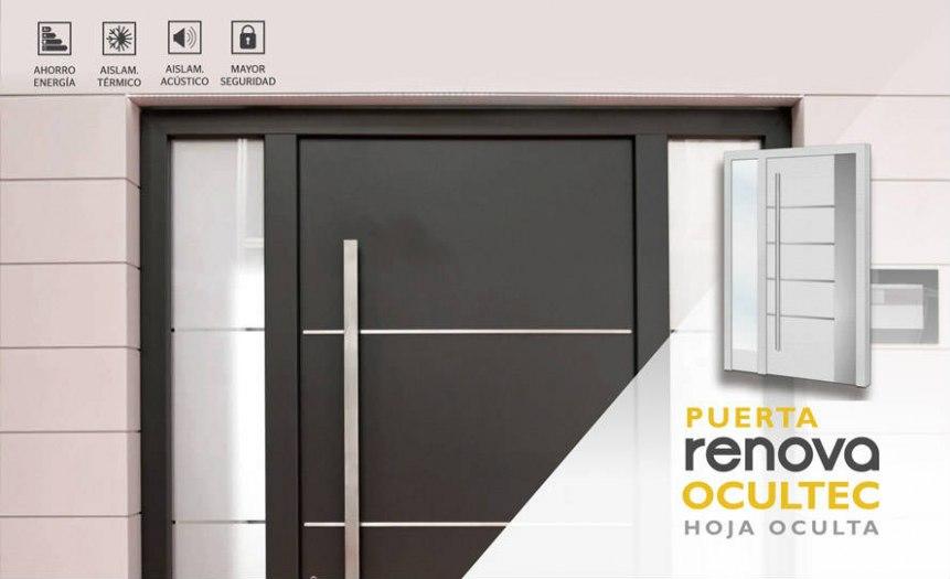 Cat logo puertas de aluminio modelos de exteriores e for Catalogo de puertas de aluminio